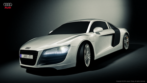 2008 Audi R8 - Front view by chi-man