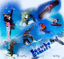 Snowboard collage by fesell