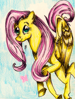 Fluttershy by kitoridragoness