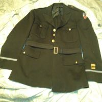 WWII Army Tunic by TrenchcoatsRule