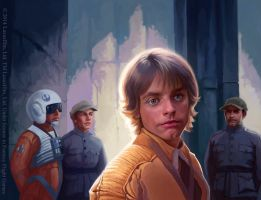 Luke Skywalker by Alisaryn