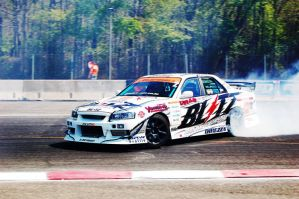 Skyline Drifting at D1GP 2 by jb1830