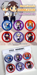 Evangelion-button set by Ai-wa