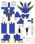 papercraft transformers prime dreadwing by minibot-gears