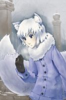 It's snowing, Yuki by Lumaga