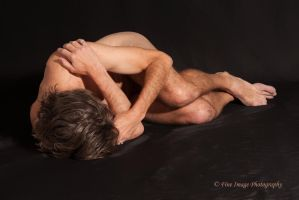 Curled on the Floor by fineimagephotography