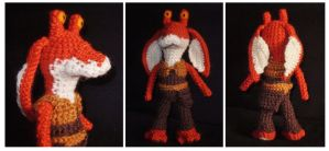 Jar Jar Amigurumi by SilverTwilight05