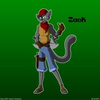 New Character Zack by TheRealSneakers