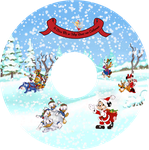 Disney Christmas 2009 - Disc by thealienamongus