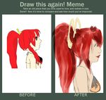 DRAW THIS AGAIN MEME by carcinoidgenocide