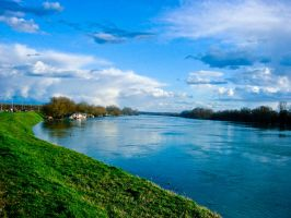 Sava river II by Zekaaa