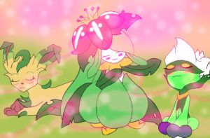 Lilligant's Scent by CondemnedKid