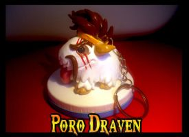 League of Poros - #100 DRAVEN by SophieOTTO