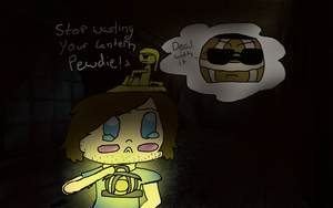 Pewdiepie, Stephano, and a fahking barrel by UnwiserSmile
