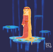 Eleanor the water spirit by solcastle