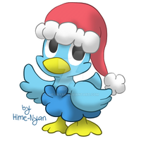 Christmas Ducklett by Hime--Nyan
