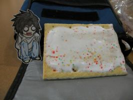 L and the Pop-tart by uchi848