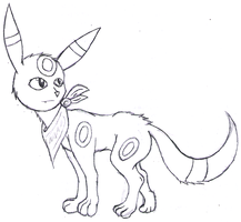 My umbreon, hehe by RubyGirl14
