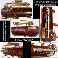 "Tinkertons ""Tesla Ranger"" Bracer by Steampunked-Out"