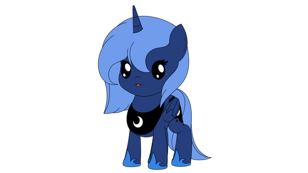 Chibi Princess Luna Ver.1 by ArdonSword