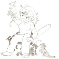 Attack of the.... Kittens by LikeMaNiac