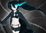 Black Rock Shooter by athilove101