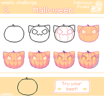 Weekly Challenge 3 - Halloween by Lanahx3