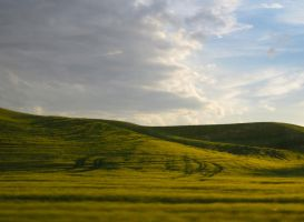Half a Sky: Palouse (Wallpaper) by EeyoresDarkSide