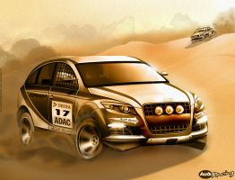 Audi Q5 Rally Sport by HATTR1CK