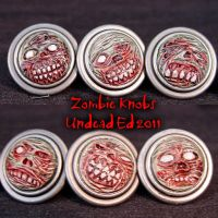 Zombie Knobs Deluxe Cabinet by Undead-Art