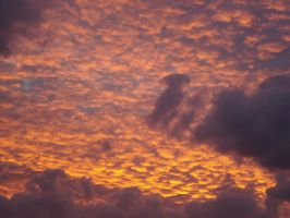 Cloudy Sunset 5 by Capoodra-StockImages