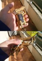 Royal Gold Plated Nerf Jolt by JohnTronz