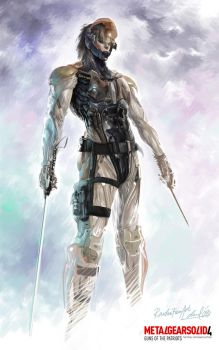 Raiden MGS4 by dwinbotp