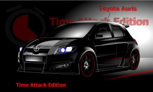 Toyota Auris Time Attack by Dannychhang
