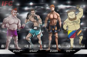 IFC FIGHTERS COLLAB by antonjorch