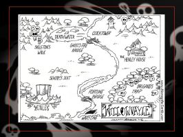 Land of Henley:Willowvayle Map by Carnival-Werewolf
