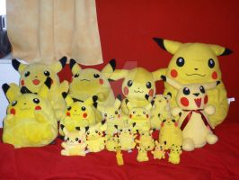 My Pikachu collection by Myaco