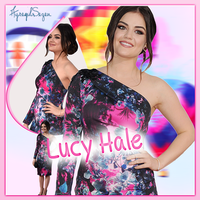Lucy Hale Fb Cover by NiklausAysegulSS