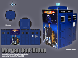 Doctor Who Tardis by morganjent4