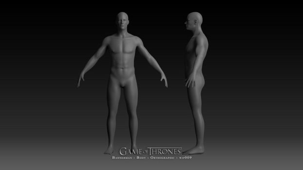 Game of Thrones: Bannerman- Orthographic-wip009 by samcote