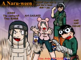 Naruto Halloween by NotJustCrazy