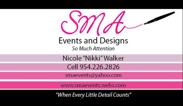 Business Card for Events by delphiniadd