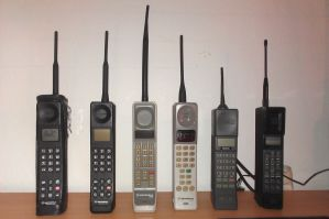 My Brick Mobile Phones (April 2014) by Redfield-1982