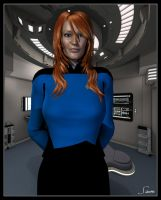 Dr Beverley Crusher by celticarchie