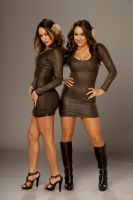 Bella Twins Heels And Boots by TheSm00thCriminal