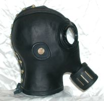 Steampunk gasmask 2 right by GriffinLeather