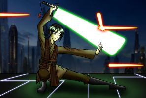 Andras Keto, Jedi Apprentice of New Jedi Order by carrot25