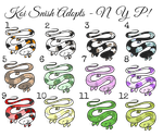 Snish Adopts [FREE 4/12 OPEN] by ApocaAdopts