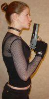Jodi Handgun Blowing Profile by FantasyStock