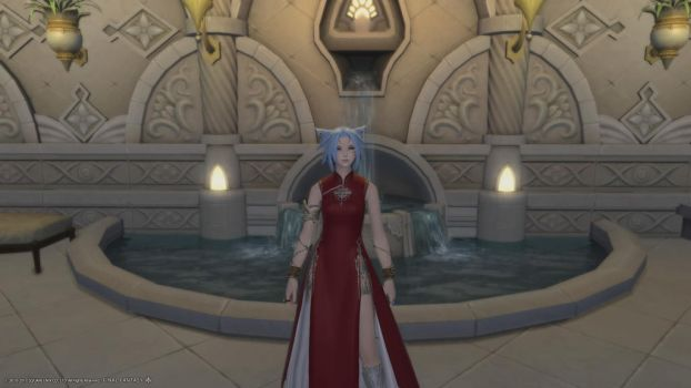Ruby Random Standing In Church -At The Wedding- by TheWriter32123